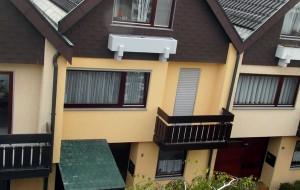 Fassaden Fenster  Holz Anstrich 2012