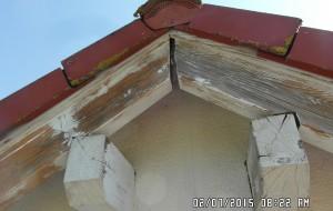 Holzschutzlack (vorher)